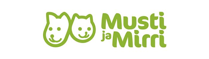 Musti ja Mirri -logo